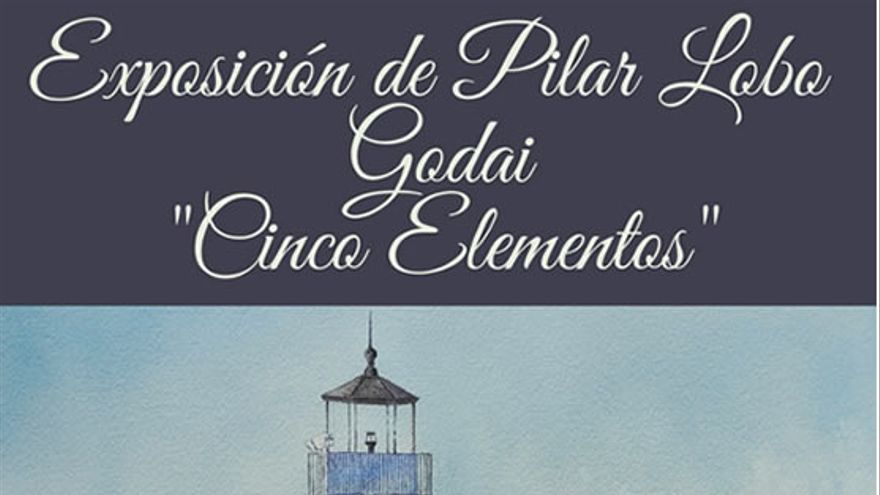 Acuarelas 'Godai-cinco elementos' de Pilar Lobo