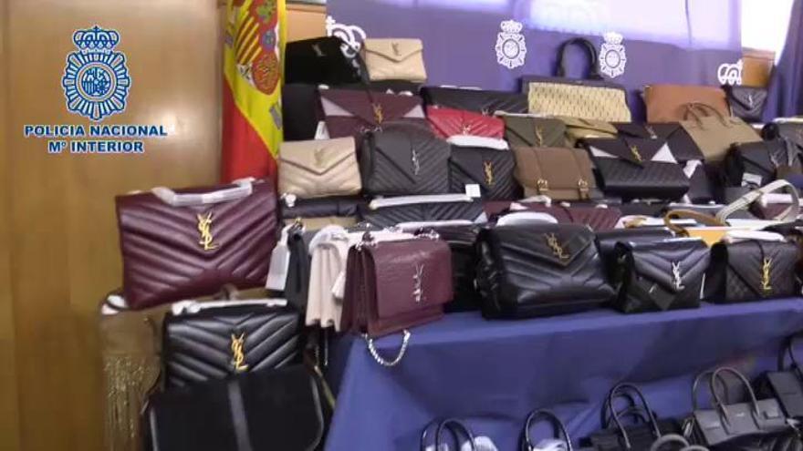 Cuatro detenidos por robar bolsos valorados en 500.000 euros en Madrid
