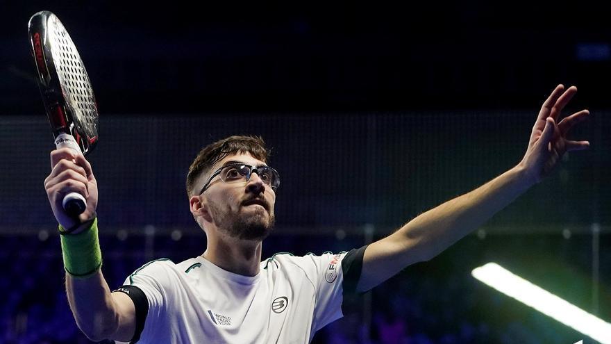 Javi Garrido y Francisco Manuel Gil dicen adiós en la segunda ronda de Madrid