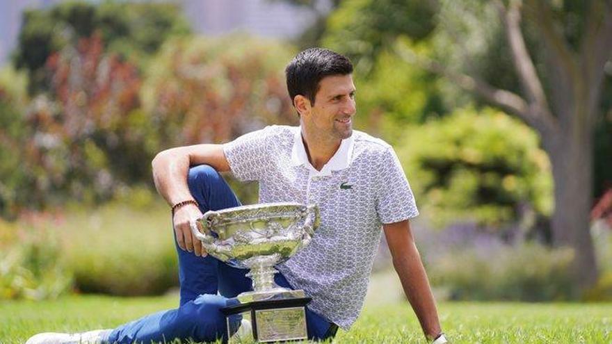 Djokovic arrebata el número uno mundial a Nadal