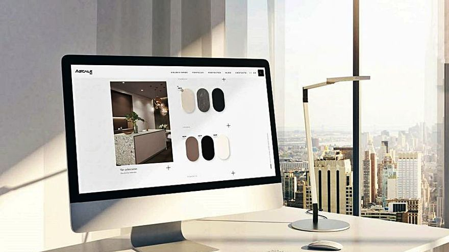 Tau, del Grupo Pamesa, crea una   web exclusiva para la marca Ascale