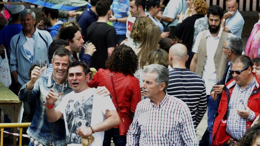 Festival de la sidra en Pola de Laviana