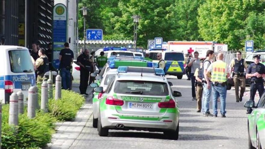 Cuatro heridos en un tiroteo en una estación de Múnich