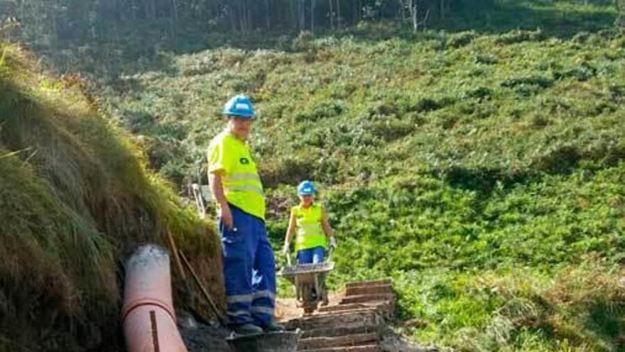 Cudillero pide mejores accesos en Oleiros, Las Rubias y Conchiquina
