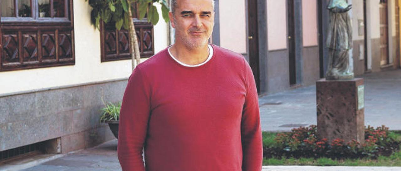 Luis García García, exconcejal de Urbanismo de Arona.