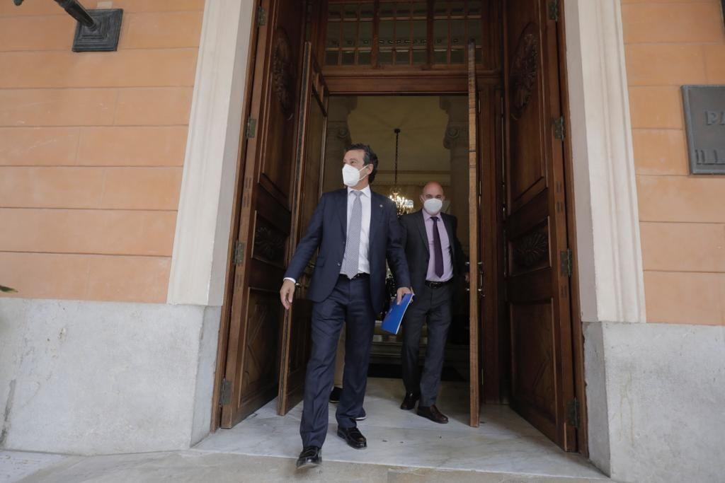 El adiós de Biel Company al Parlament