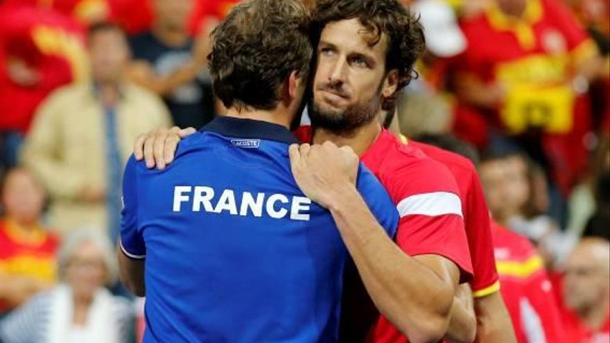 Espanya cau als dobles i s'acomiada de la Copa Davis
