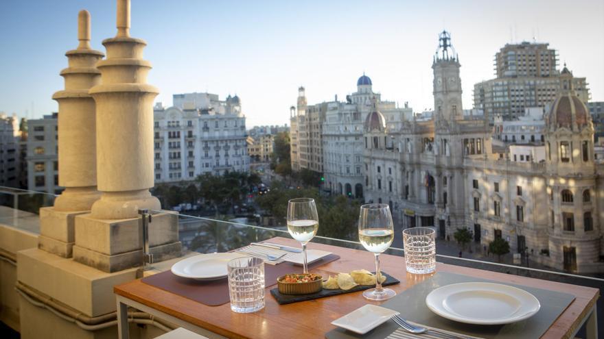 El mejor 'terraceo' con vistas en València