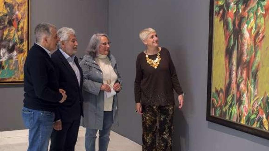 Retrospectiva de Alfonso Sucasas en el centro cultural