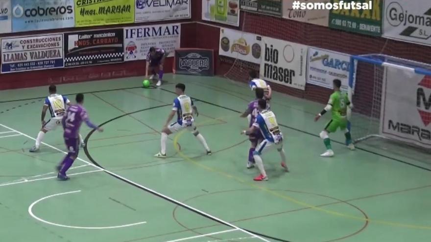 Atlético Benavente nunca le perdió la cara al Palma Futsal