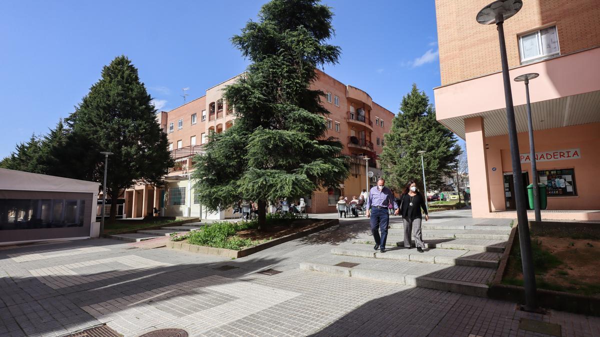Calle Arrayanes, en la barriada de Ciudad Jardín.