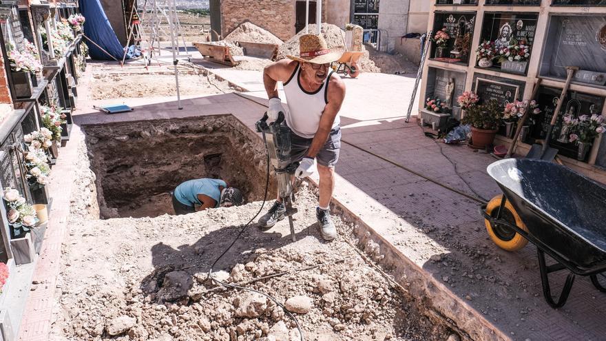El Ayuntamiento de Aspe exhumará a los fusilados de la población enterrados en Alicante