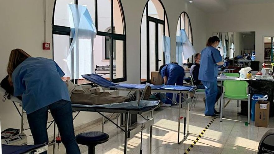 La RUHC de Badajoz se vuelca con la donación de sangre