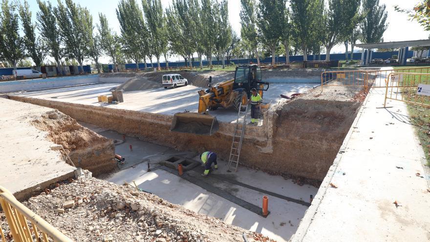 La mitad de las obras previstas en los barrios rurales de Zaragoza se han terminado