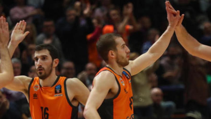 El Valencia Basket se mantiene invicto en el Top 16 de la Eurocup