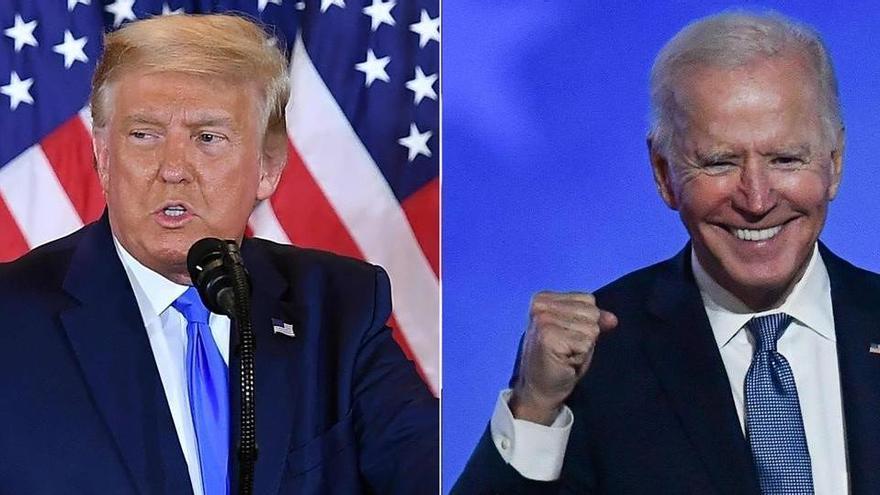 Biden i Trump, pendents de Geòrgia, Nevada i Arizona