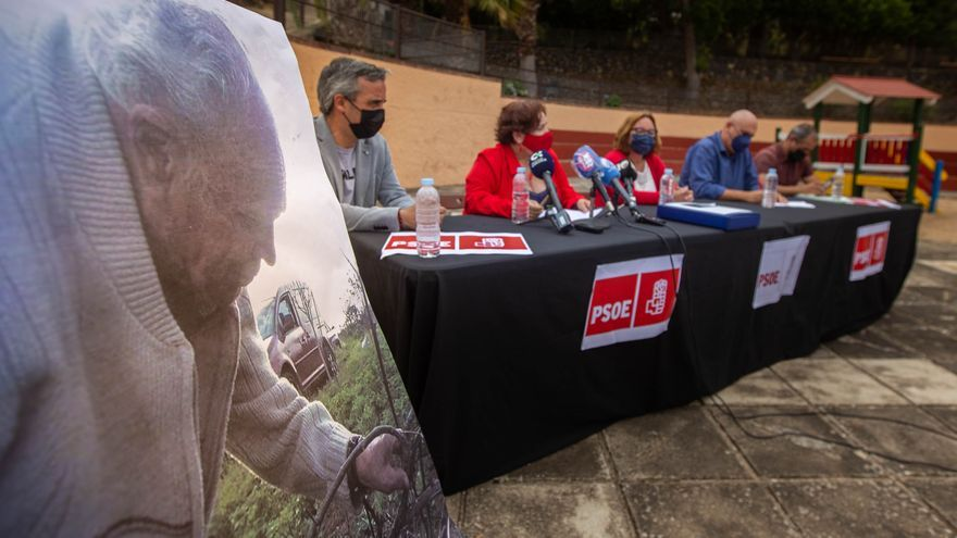 El PSOE celebra la absolución de Silva  y la reducción de condena a Velázquez