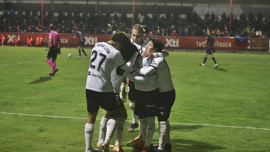 El Valencia revive en la Copa