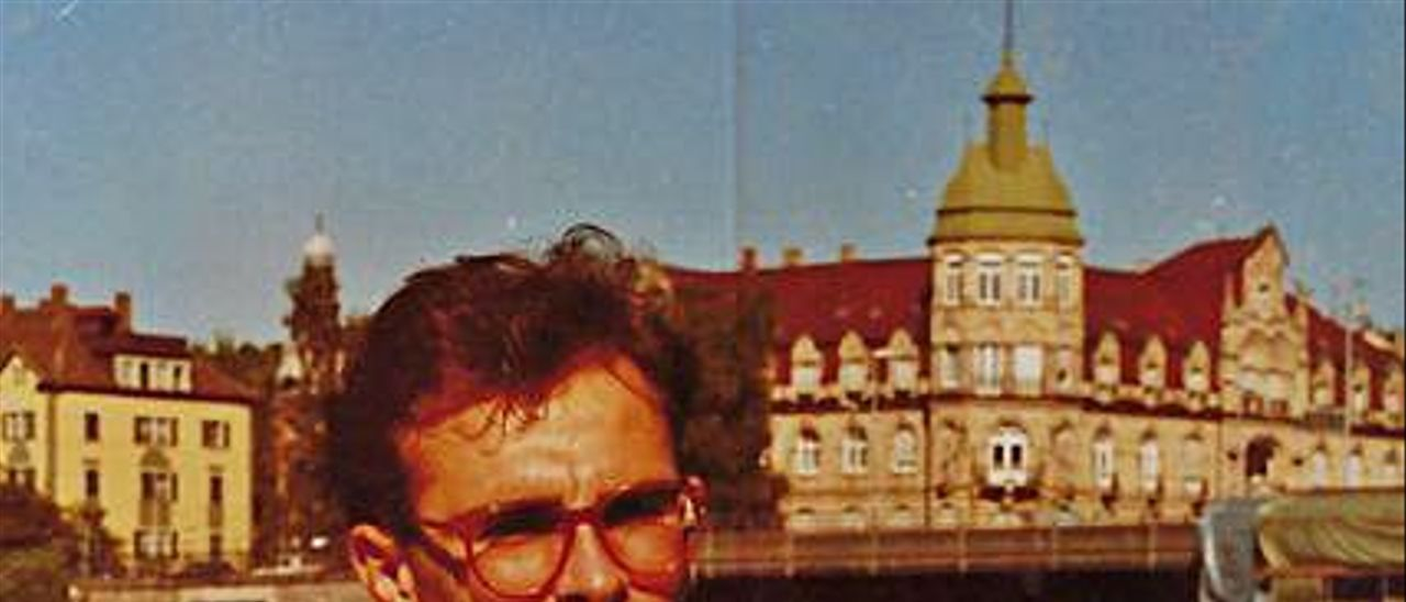 Ignacio Villaverde, durante su época de estudiante en Alemania.