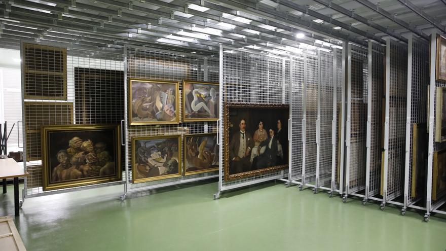 Los tesoros ocultos de Piti: centenares de pinturas, esculturas y otras obras de arte a la espera de ser expuestas