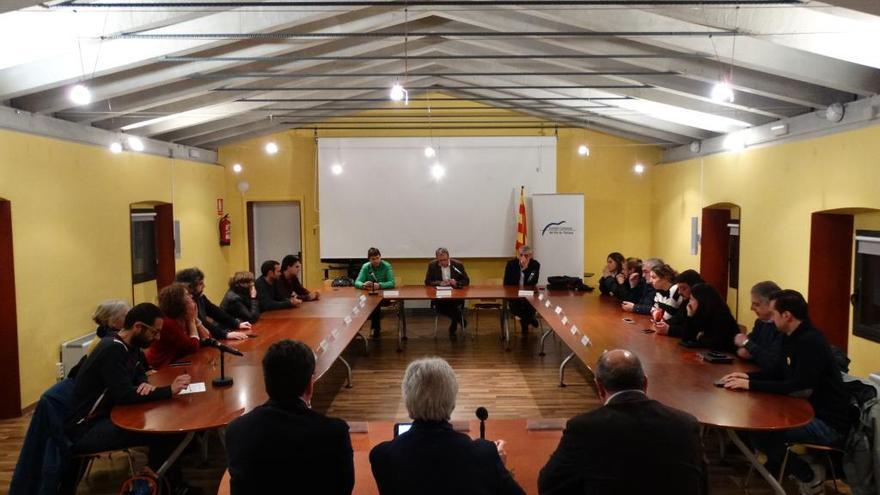 El Consell Comarcal del Pla de l'Estany aprova millores per a l'abocador comarcal