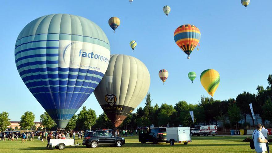 El festival de globus aerostàtics d'Igualada redueix el format per evitar aglomeracions