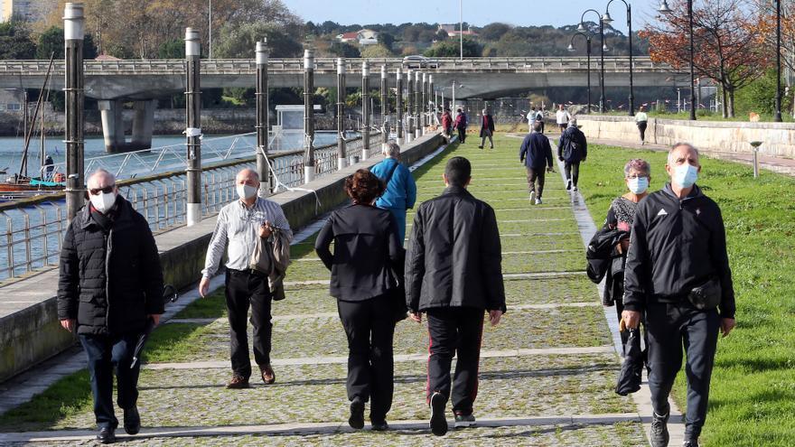 Vigo rompe su techo histórico de contagiados de COVID-19