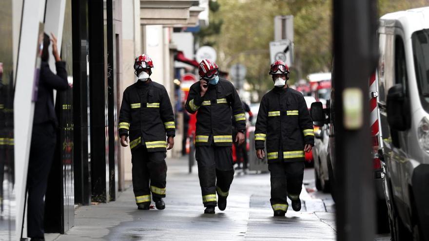 Ataque con arma blanca en París