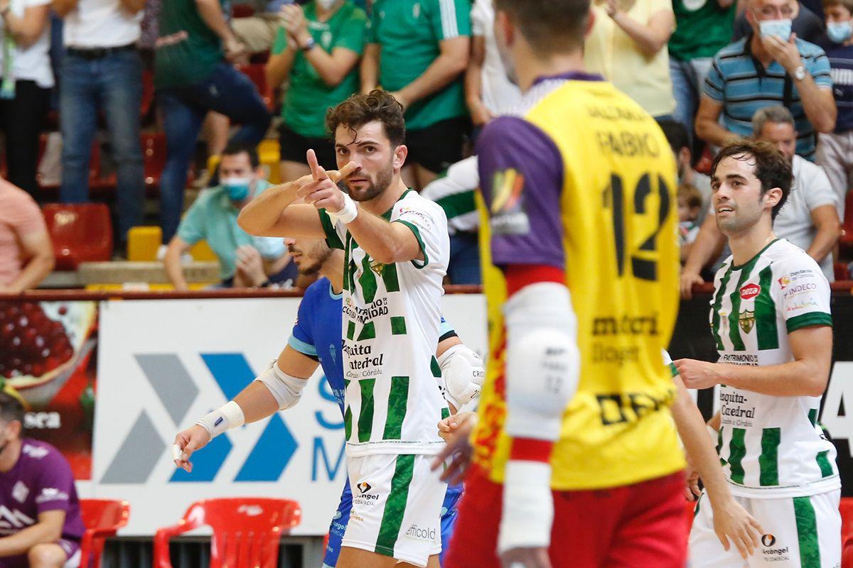 El Córdoba Futsal contra el Palma en imágenes