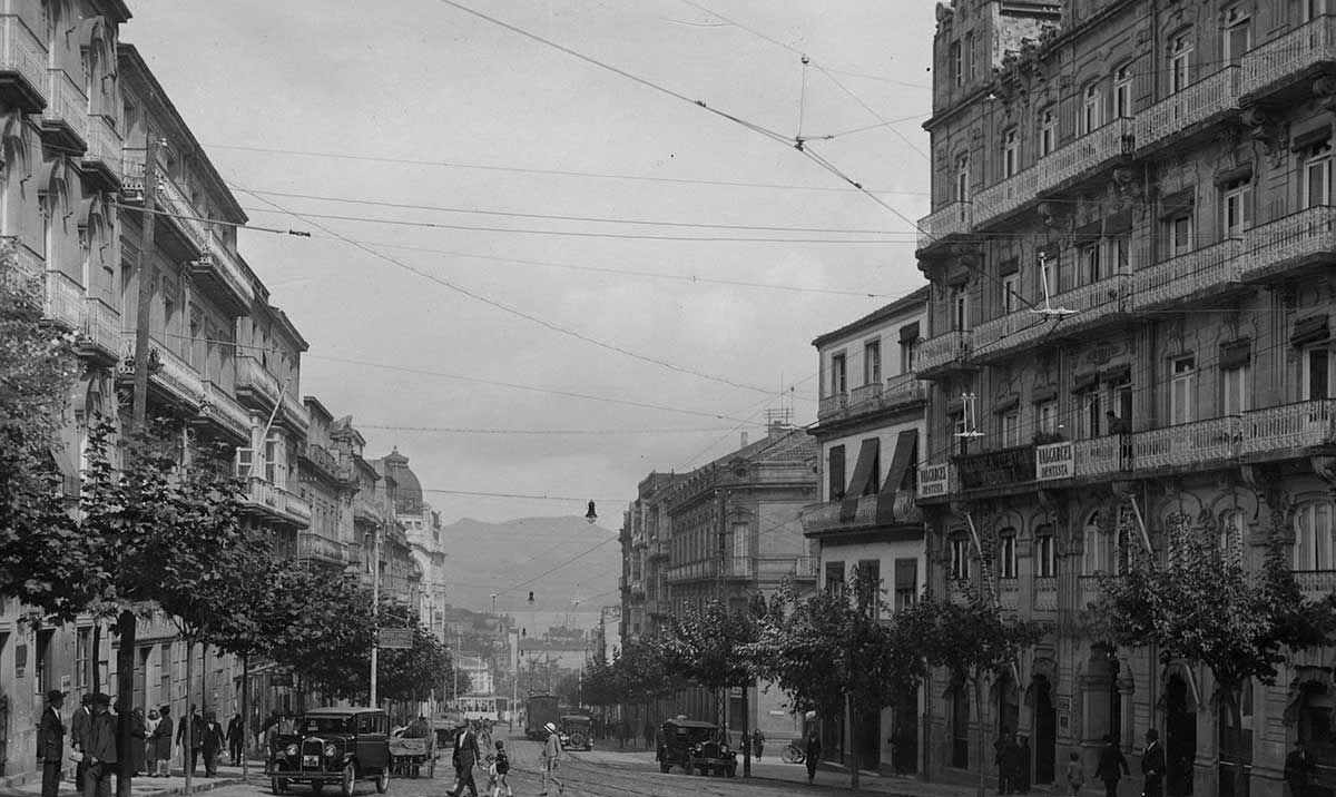Rúa Colón 1920 -1936