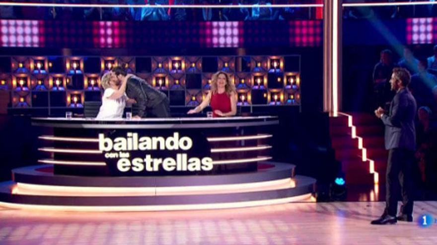 Joaquín Cortés anuncia en 'Bailando con las estrellas' que va a ser padre