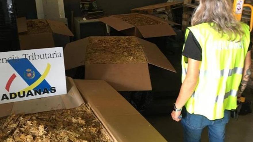 Absueltos tras ser pillados con 9.000 kilos de hojas de tabaco en Alcantarilla