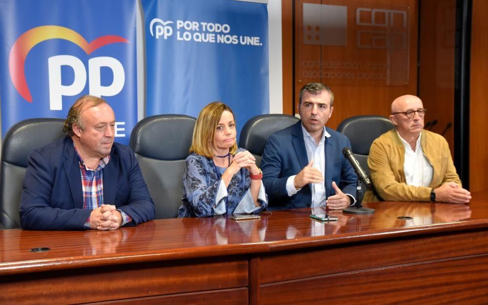 El PP canario valora los resultados electorales.