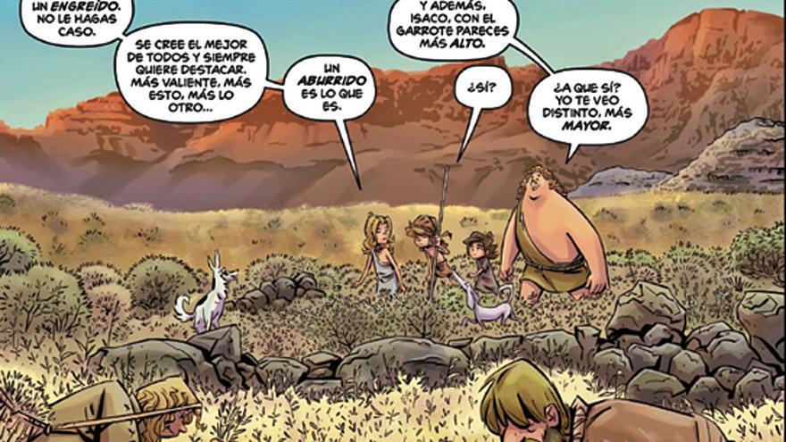 Nace 'Isaco y sus aventuras', un cómic sobre temática indígena