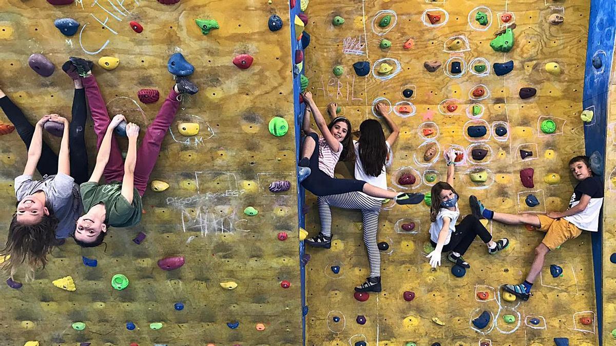 Imatge de les activitats d'escalada