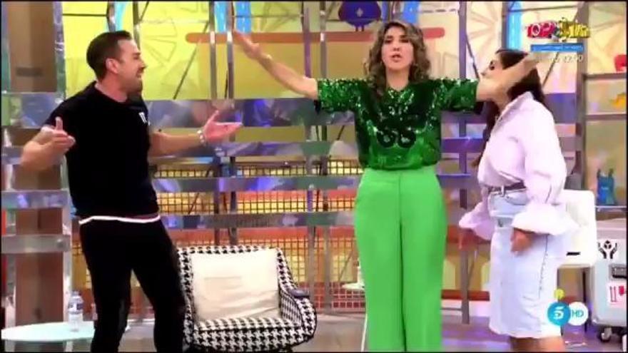 La discusión entre Rafa Mora y Anabel Pantoja por la que Telecinco valora su expulsión