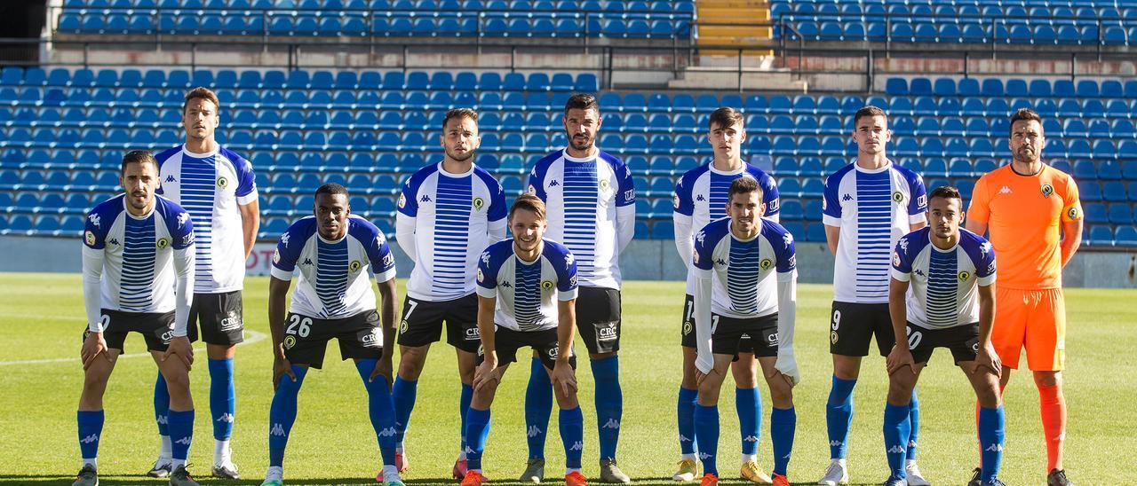 Hércules - Villarreal B: Las imágenes del partido