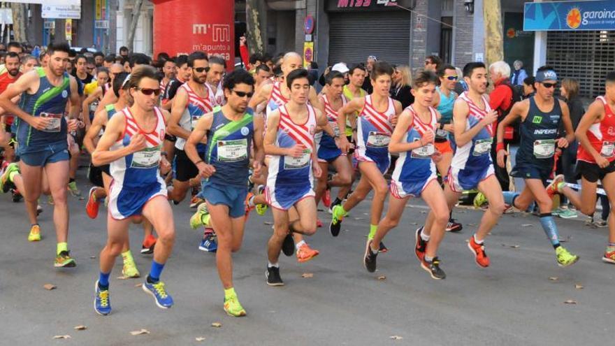 La cursa 10 Km Urbans de Manresa haurà de passar pel lateral del Passeig