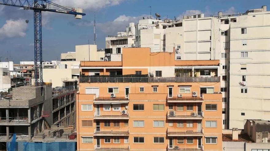 La mitad de los edificios inspeccionados en Palma presentan deficiencias