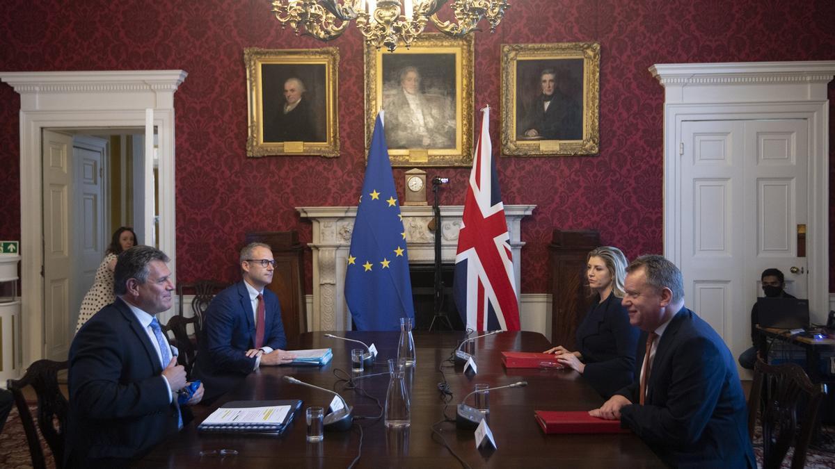 Los equipos negociadores del Brexit se han vuelto a reunir en Londres