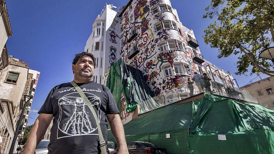 El mural de Mesas del hotel Artmadams deberá estar retirado en septiembre