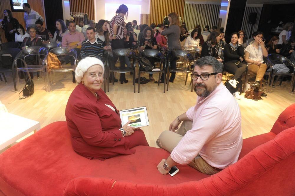 Acto solidario de Coruña Bloggers con sorteos y charlas