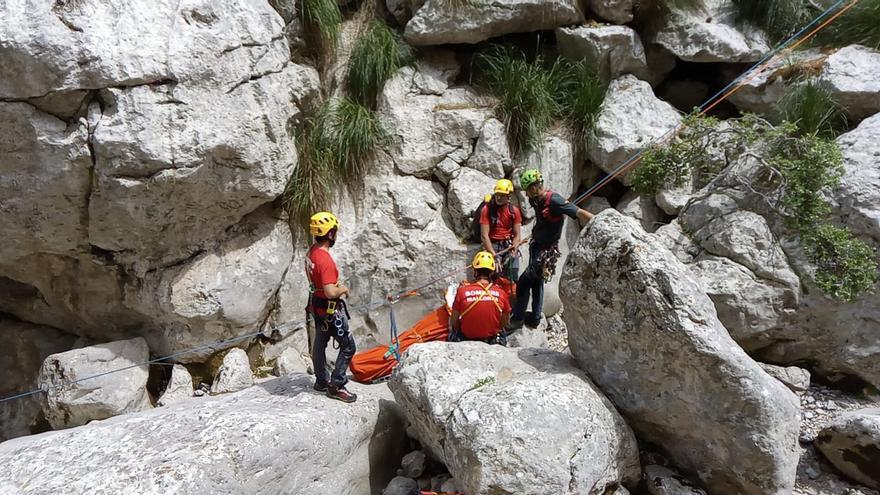 Dos heridos graves en accidentes de montaña en Escorca y Alcúdia
