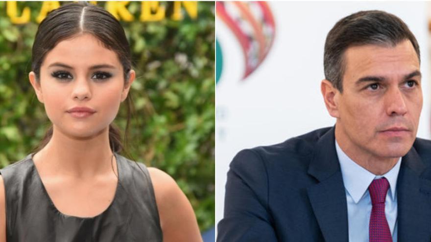 Selena Gómez demana a Pedro Sánchez vacunes per a tots