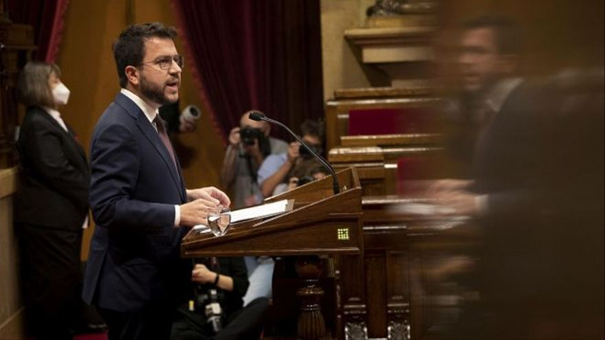El independentismo catalán se divide sobre la celebración de un referéndum en esta legislatura