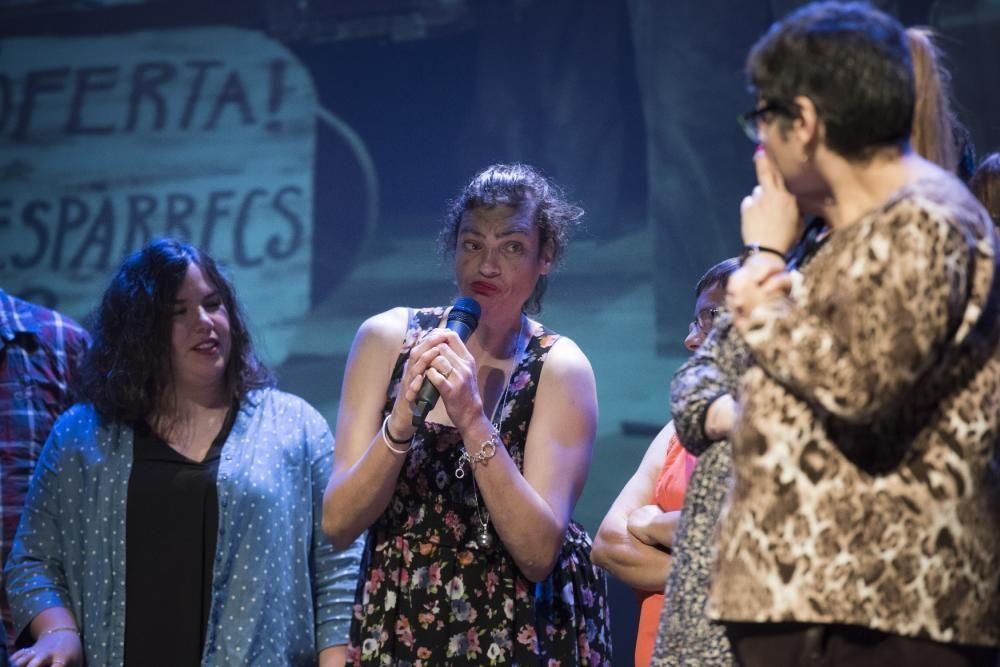 Festival Clam 2019, entrega del premi Pere Casaldàliga