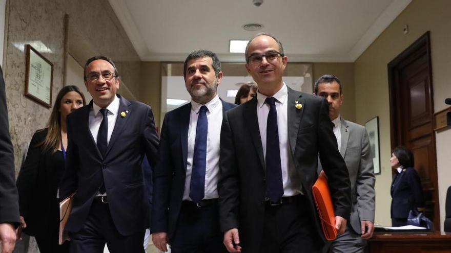 Sànchez, Turull y Rull urgen al Supremo a emitir ya su informe sobre los indultos
