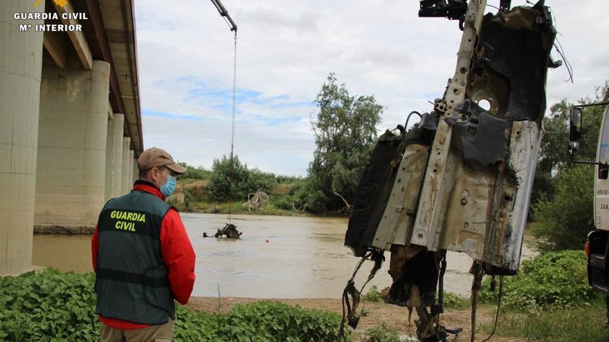 Confirmado: El coche encontrado en Alagón es el implicado en el atropello mortal del concejal de Luceni