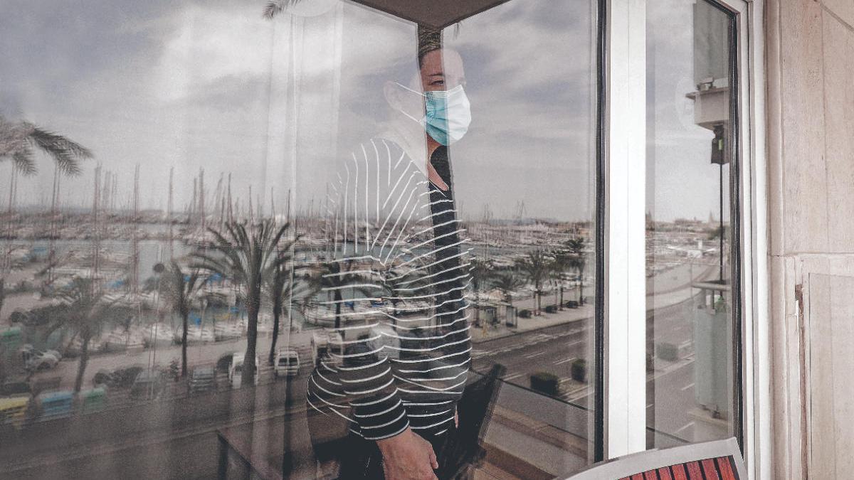 """Los """"hoteles puente"""" por coronavirus de Baleares alojan a 34 personas"""