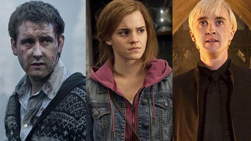'Harry Potter': Emma Watson, Tom Felton y Matthew Lewis juntos pero lejos de Hogwarts